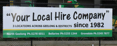 Kerr's Hire - Your Local Hire Company Since 1982