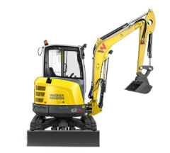 Rental store for Excavator 4.5t VDS Wacker Neuson in Geelong VIC