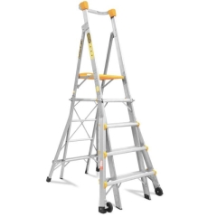 Rental store for Platform Ladder 1.5m to 2.4m in Geelong VIC