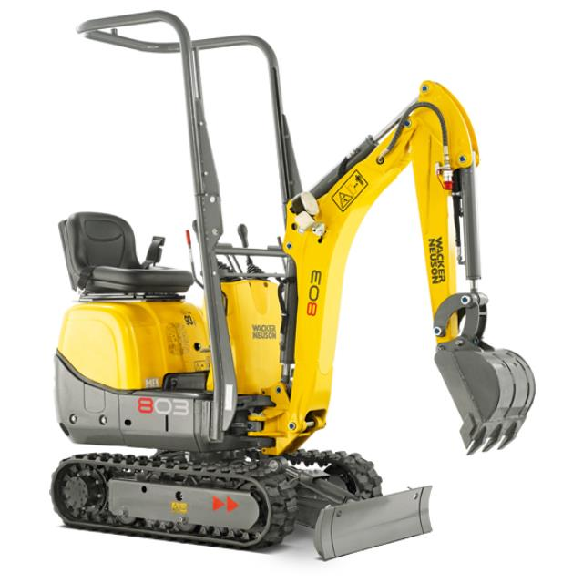 Where to find Wacker Neuson 803RD Excavator in Geelong