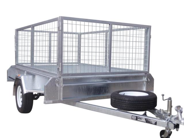 Where to find Trailer Cage 8  x 5  Single Axle in Geelong