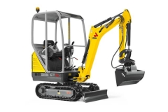 Rental store for New Wacker Neuson ET16 Excavator Half Hitch in Geelong VIC