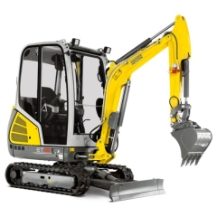 Rental store for New Wacker Neuson ET18 Excavator Quick Hitch in Geelong VIC