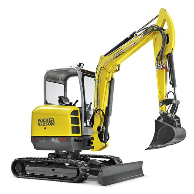 Where to find New Wacker Neuson EZ38 Excavtor Quick Hitch in Geelong
