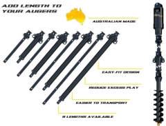 Rental store for Digga X0 XT75HD Auger Extensions Up to 20T Machines in Geelong VIC