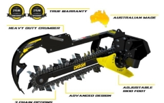 Rental store for Digga Trencher Mini Bigfoot - Machines 500kg-1.5T in Geelong VIC