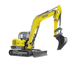 Rental store for New Wacker Neuson EZ80 Excavator Quick Hitch in Geelong VIC