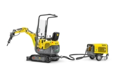 Rental store for Wacker Neuson 803 Dual Power Excavator in Geelong VIC