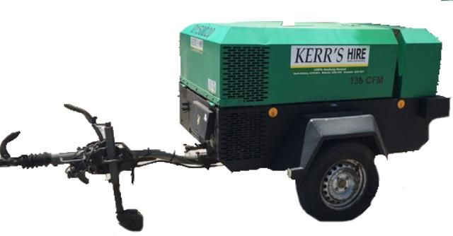 130 CFM AIR COMPRESSOR Hire Geelong VIC, Where to Hire 130