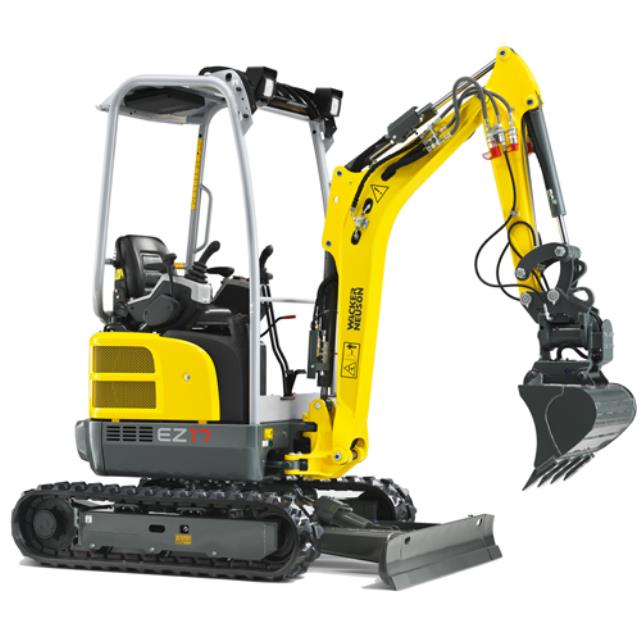 Where to find Excavator 1.7t Zero Tail Wacker Neuson in Geelong