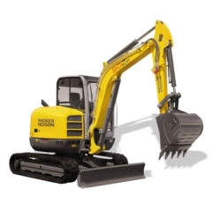 Rental store for Excavator 6t VDS Wacker Neuson in Geelong VIC