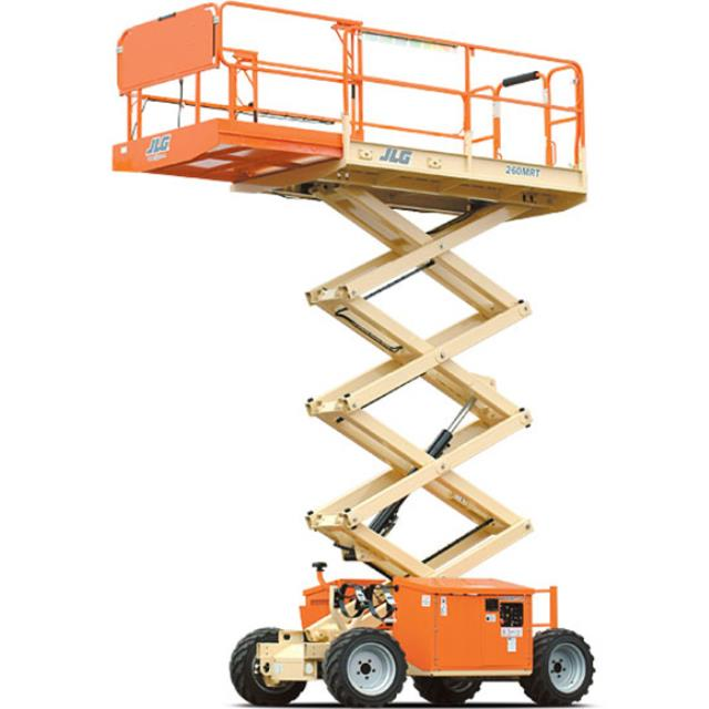Where to find Scissor Lift 26ft Rough Terrrain Diesel in Geelong